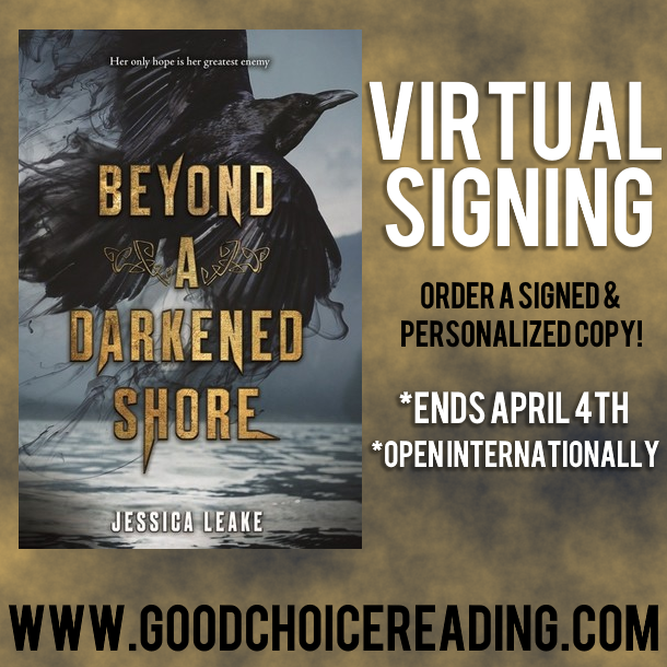 Beyond A Darkened Shore by Jessica Leake