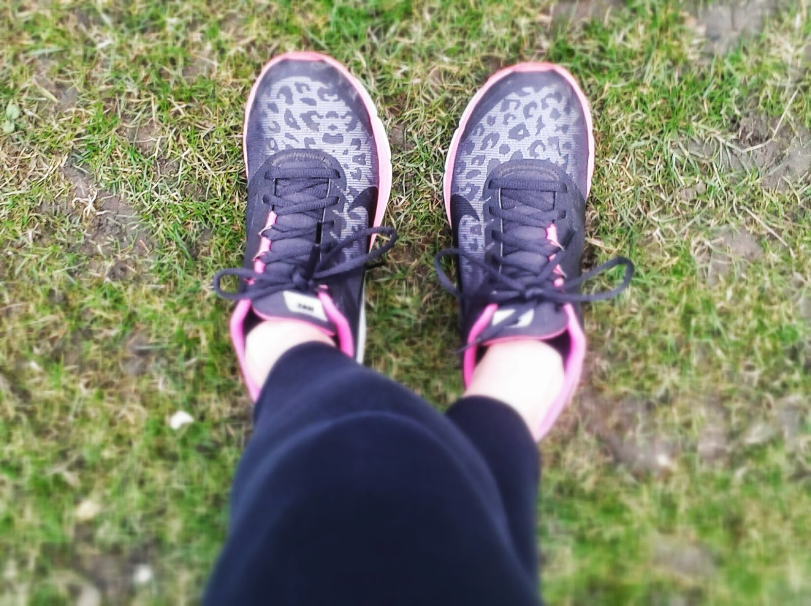 Project 365 day 86 - Post run stretch in my Nikes // 76sunflowers