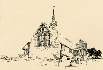 For Instance Above Are Two Iconic Country Churches He Produced In The Same Time Period As His Exotic Travel Sketches
