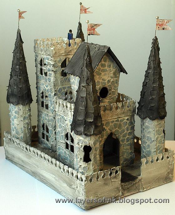 http://layersofink.blogspot.com/2014/04/medieval-castle-tutorial.html