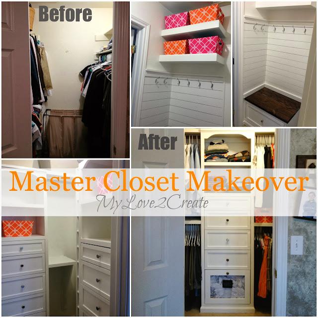 MyLove2Create, Master Closet Makeover