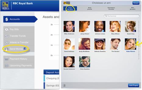 RBC Canada sur iPad