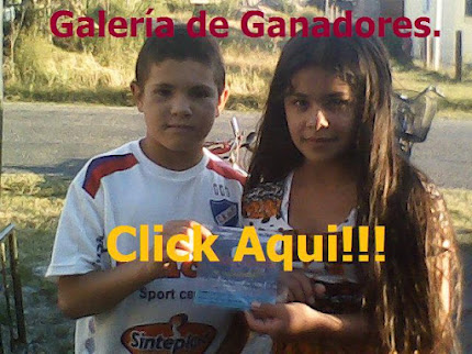 "Visite nuestra ""Galera de Ganadores"""