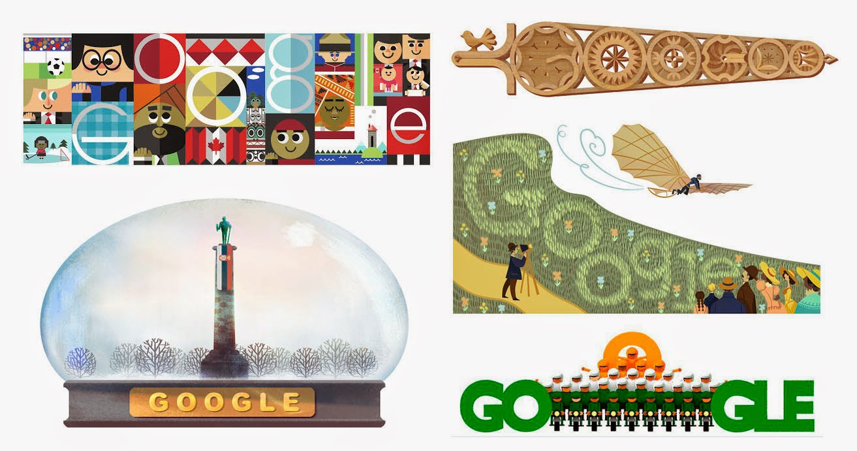 Los mejores doodles de Google del año 2014