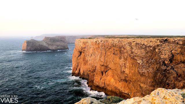 Acantilados del cabo de San Vicente, Algarve