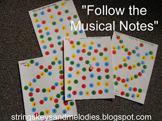 musical notes, musical notes game, treasure maps, quarter notes, half notes, dotted half notes, whole notes, strings keys and melodies
