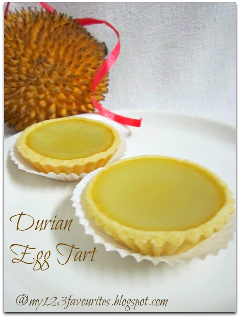 my little favourite DIY: Durian Egg Tart . 榴莲蛋挞496 x 656 jpeg 78kB