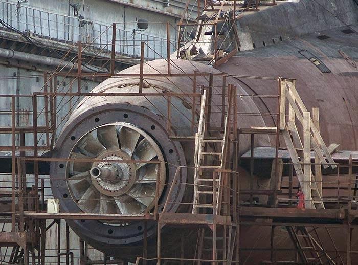 моторы подводных лодок
