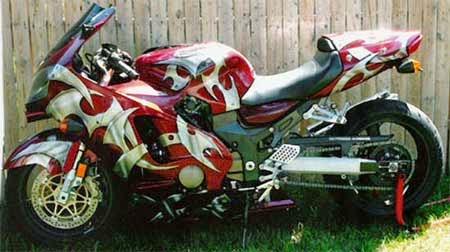 gambar modifikasi motor keren