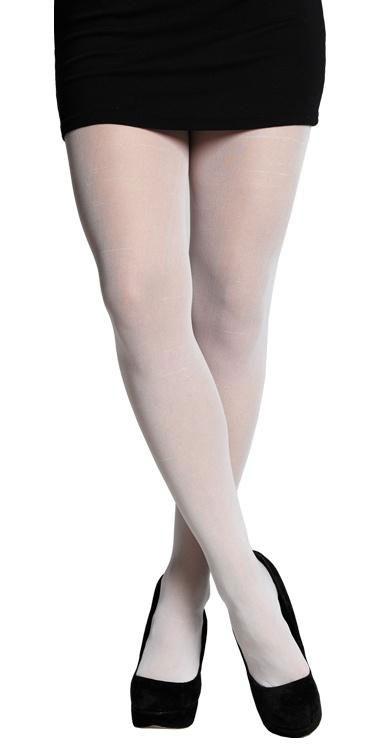 Weiße Strumpfhose von kostüme.com