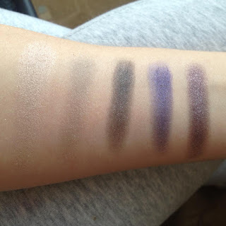Urban Decay Vice4 swatch row 1