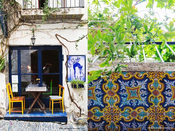 restaurante balcon azulejos cadaques