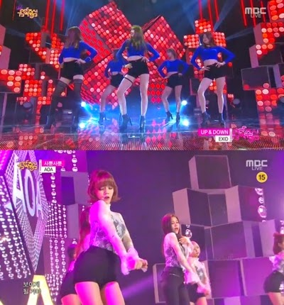 Koran girl group Exid Hani Up&Down Hyerin Junghwa Solji