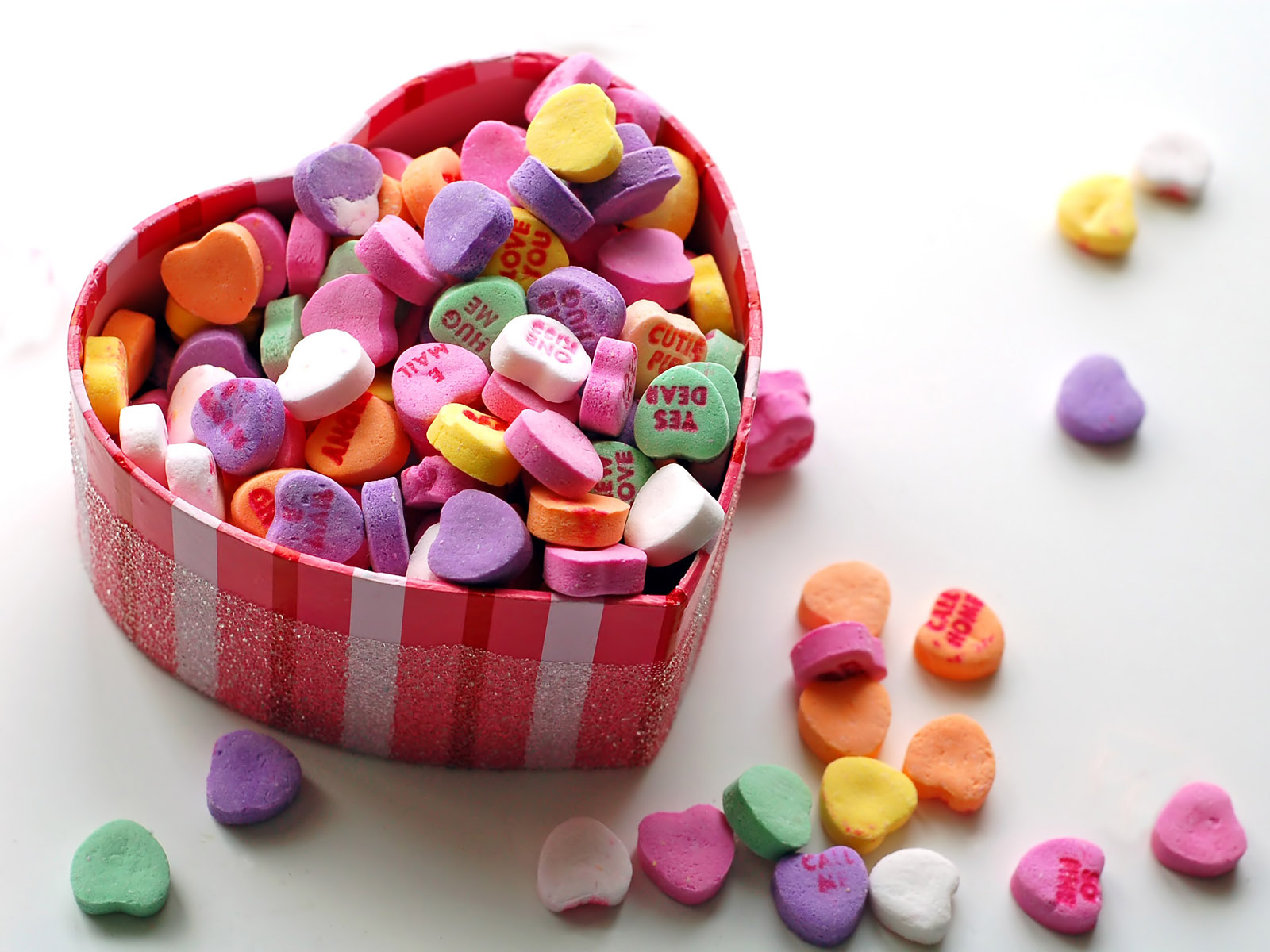 Happy Valentines Day Sweetheart Sweet Chocolates For