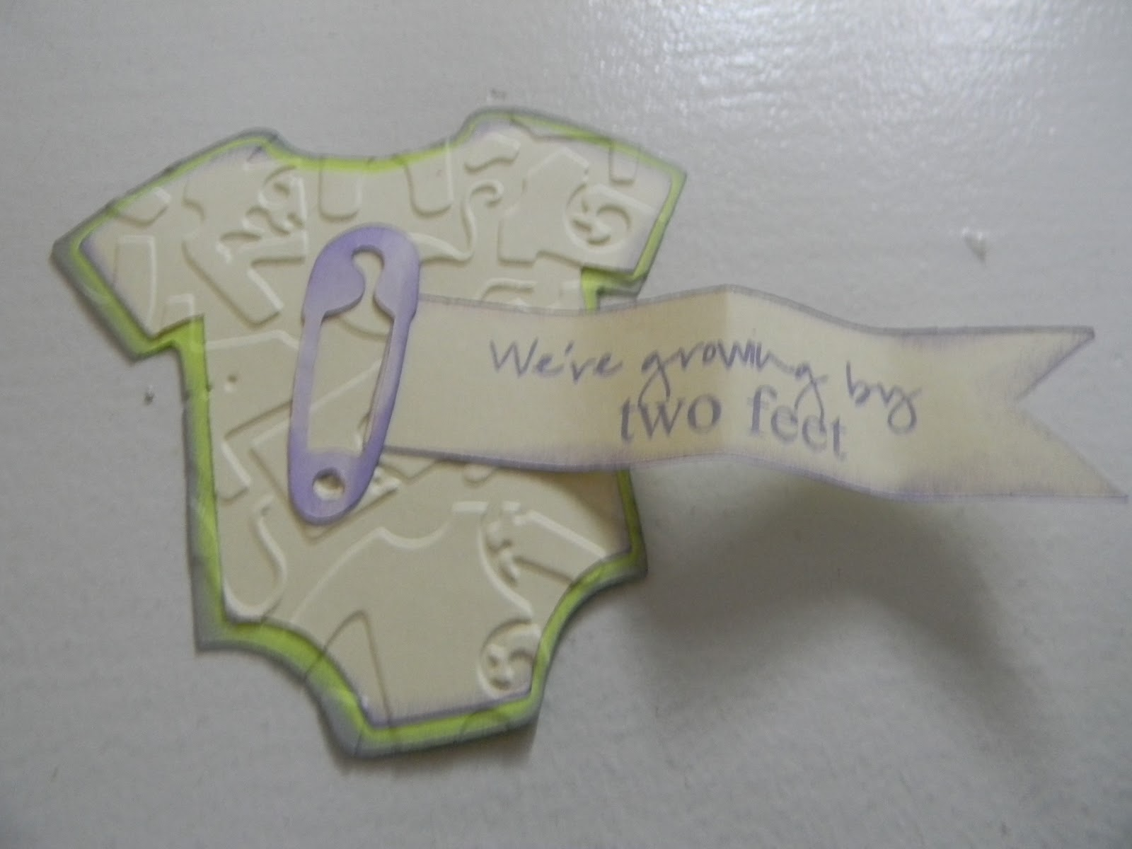 Baby Shower Favors Using Cricut ~ Kindred kreations baby shower favors for exploring cricut