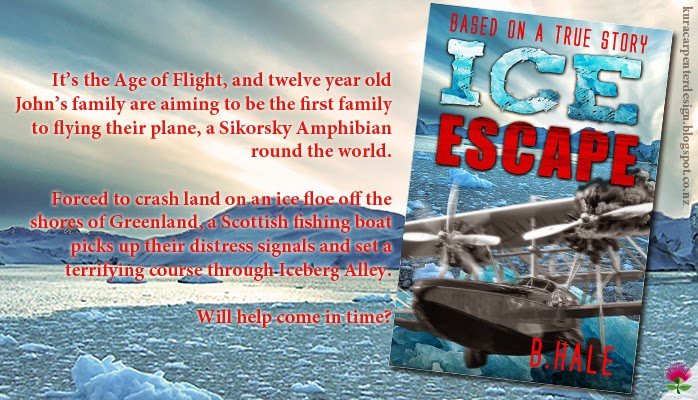 """Ice Escape"" author B. Hale is based on a True Life Story"