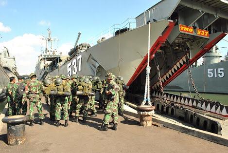 TNI AL Meriahkan HARNUS 2015 di Lampulo, Banda Aceh