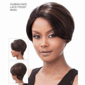Its a Wig 100% Human Hair Lace Front Wig Mika