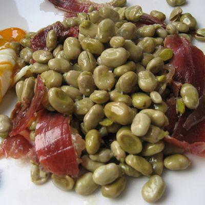 Gregory 39 s spanish tapas habas con jamon - Habas tiernas con jamon ...