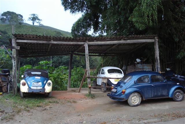 Fusca em Visconde de Mauá, foto de Marcelo Migliaccio