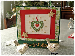 Ola rozdaje haftowane karteczki