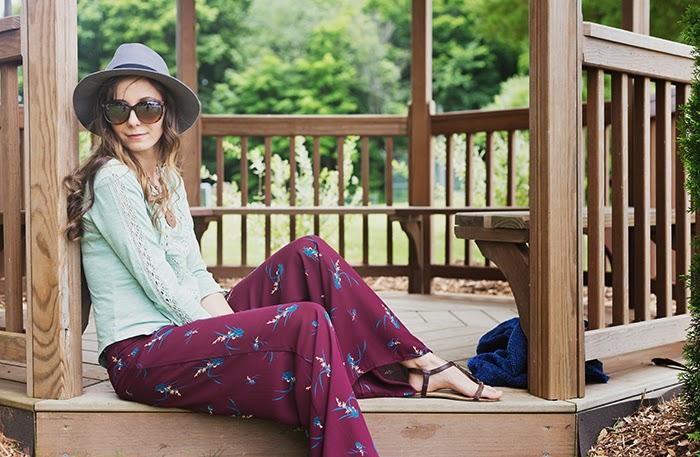 Palazzo-Pants-Wool-Fedora-Cocoon-Kimono