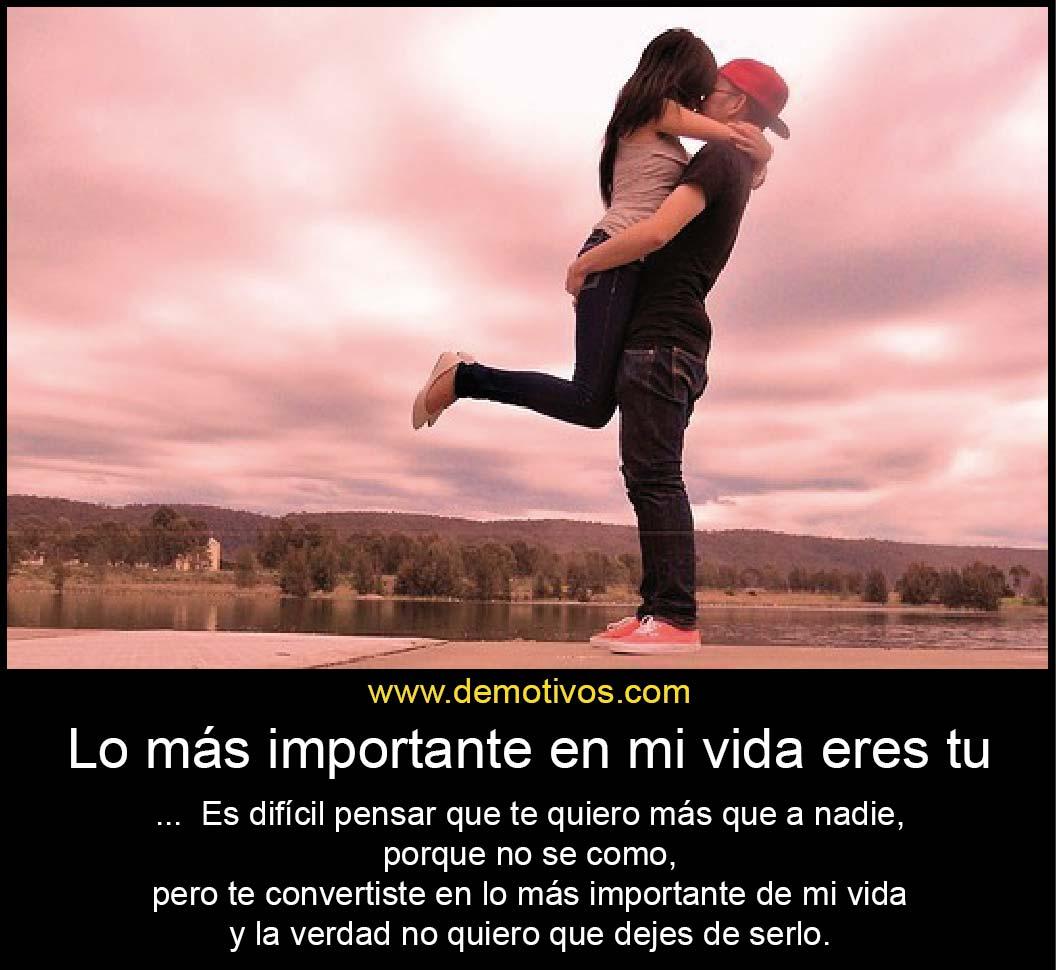Lo m s importante en mi vida eres tu es dif cil pensar - Como atraer la suerte a mi vida ...