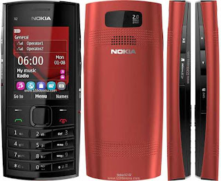Nokia X2-02 flash