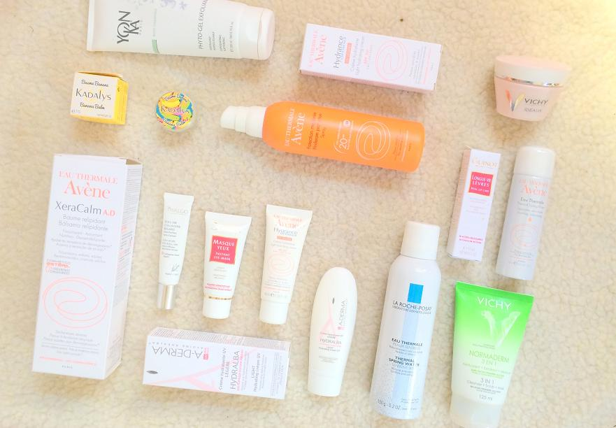 french skincare favourites