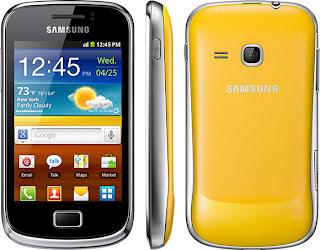 Spesifikasi Samsung Galaxy mini 2 S6500