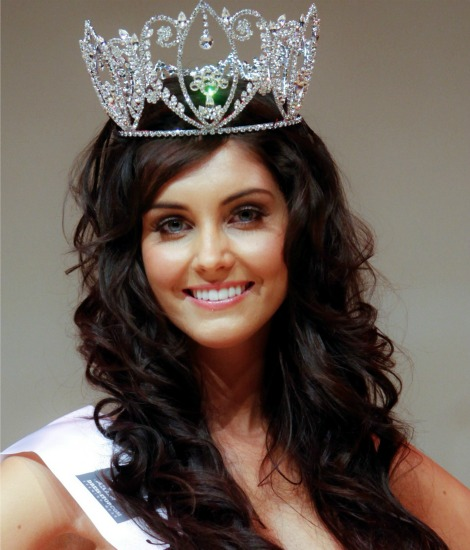Miss Wales 2012 winner Sophie Moulds