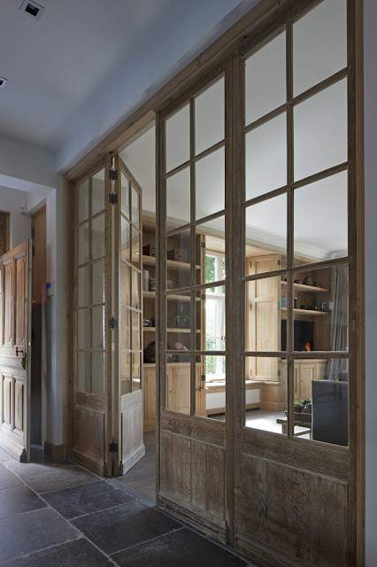 Interior Wood Doors, Project 8, image via 't Achterhuis Historic Building Materials, The Netherlands, as seen on Source Sharing, linenandlavender.net
