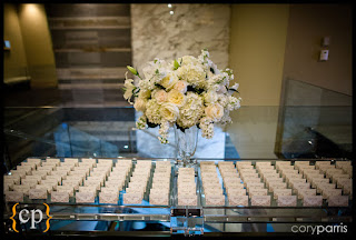 decor for escort card table