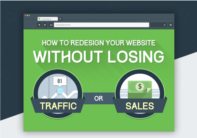 Redesigning Website Without Loosing Traffic Or Sales