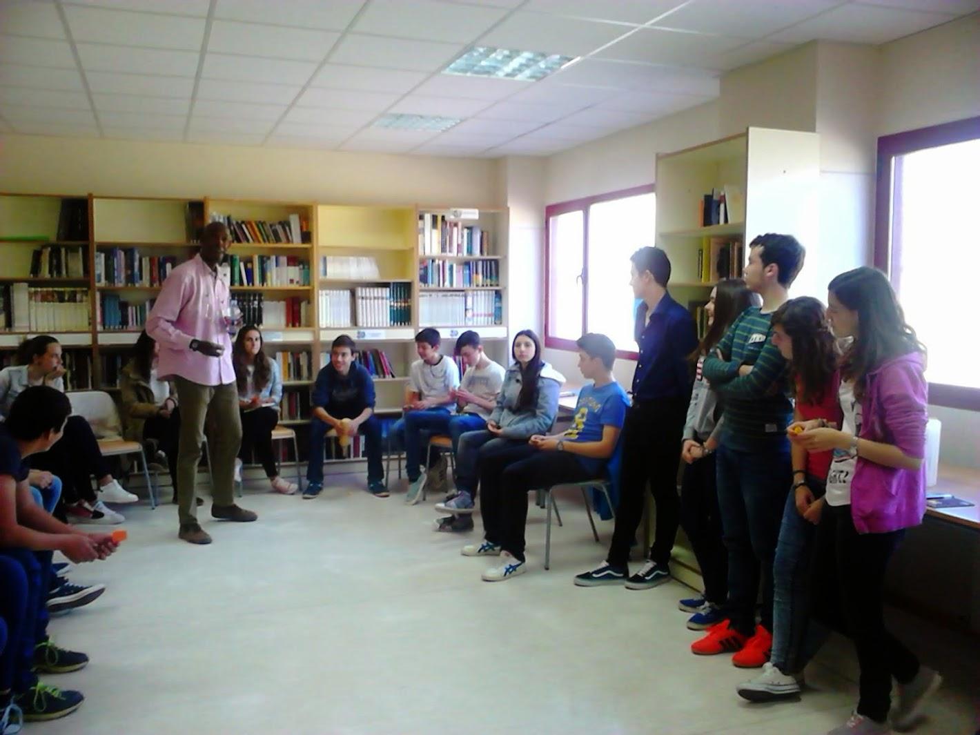 Taller de  Animación Lectora en el Instituto de Chelva