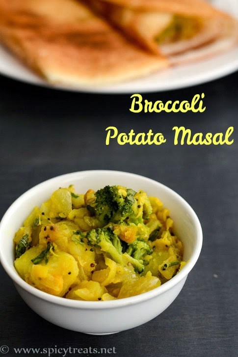 Broccoli Potato Masal