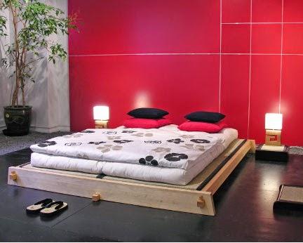 desain menarik untuk kamar tidur minimalis ala jepang