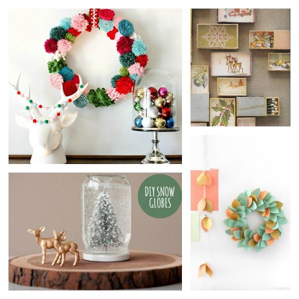 5 manualidades de navidad para ni os decoraci n for Decoracion casa manualidades