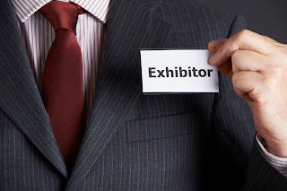 Trade Show Exhibitor Name Tag