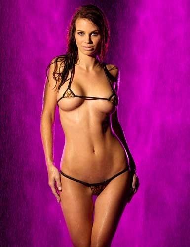 Fashion Care 2u L665 Sexy Leopard Micro Bikini Bra G