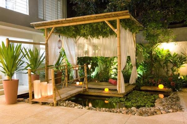 Decorilumina ideas sobre el uso del bamb en la - Decoracion con bambu ...