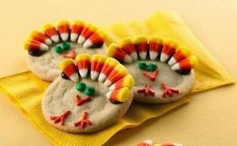turkey cookies from pinterest