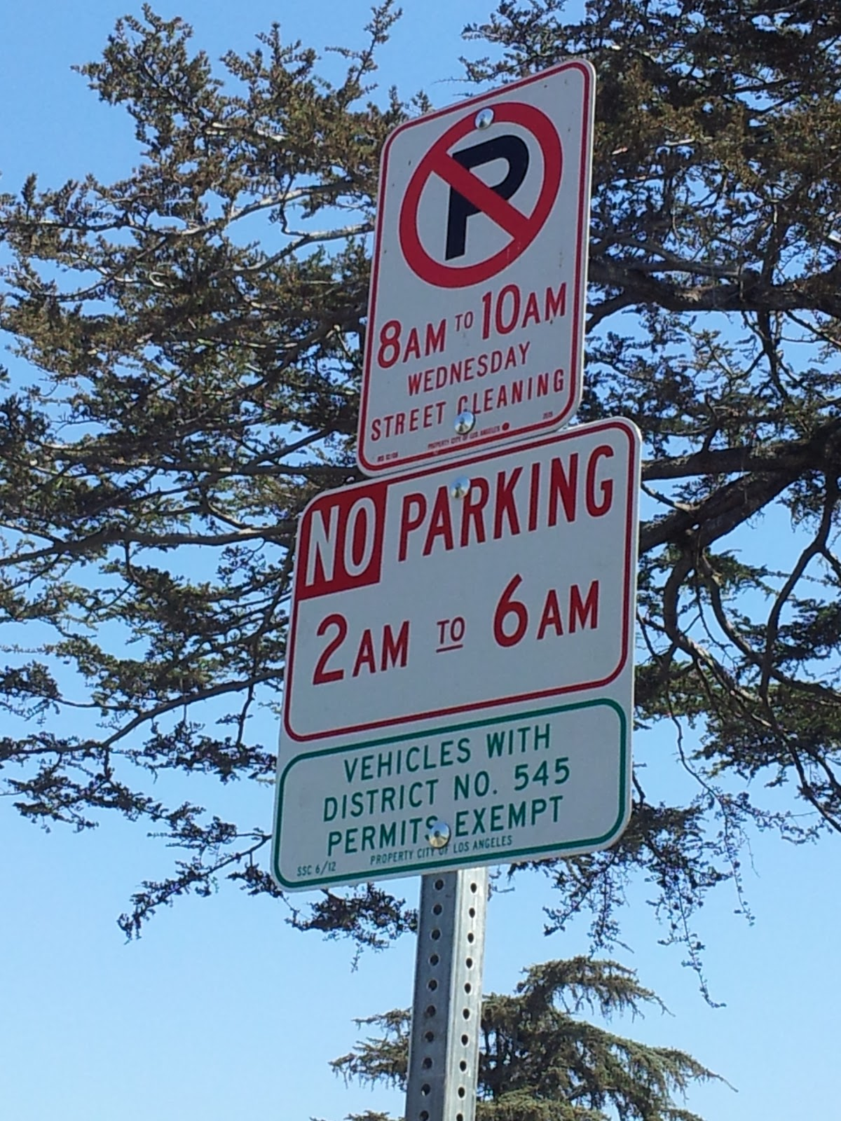 how to know which streets allow overnight parking