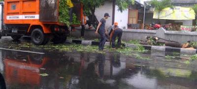 Kota Surabaya Siaga Hadapi Musim Hujan