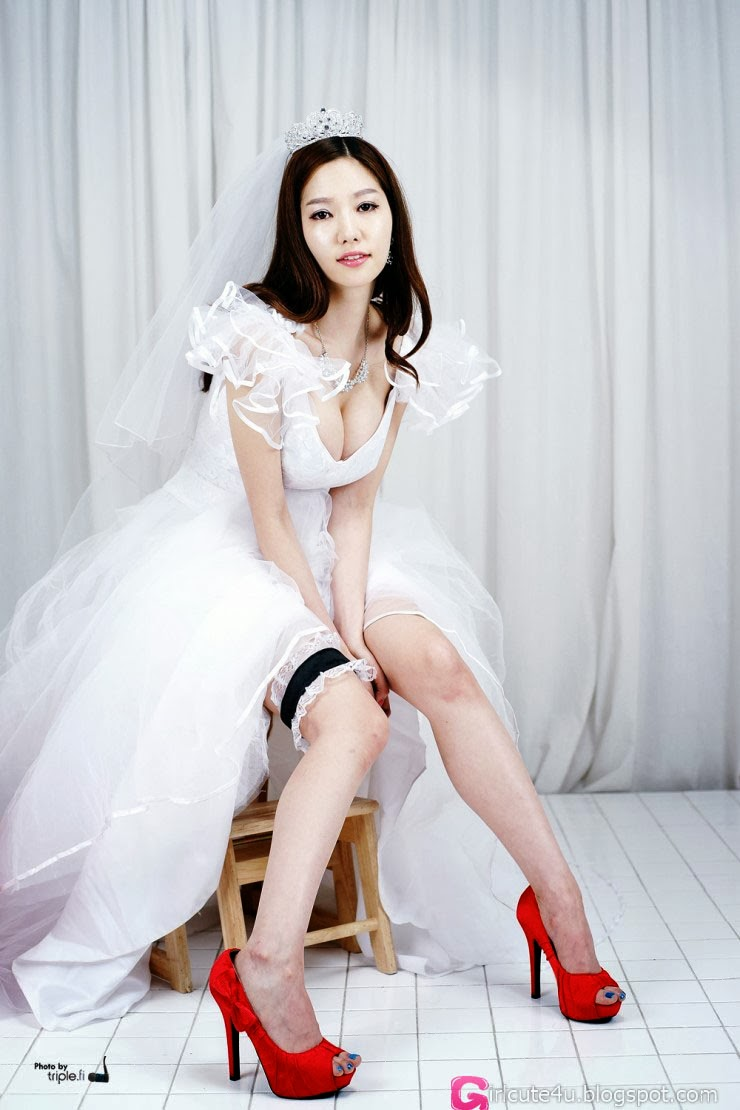 3 Han Ming Young - Weeding dress - very cute asian girl-girlcute4u.blogspot.com