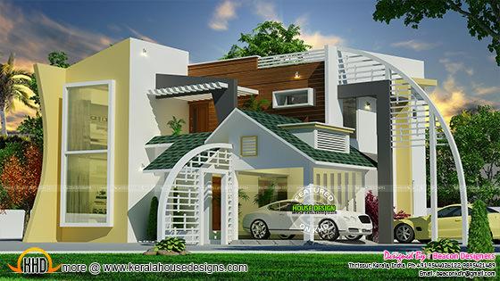 Ultra modern contemporary home