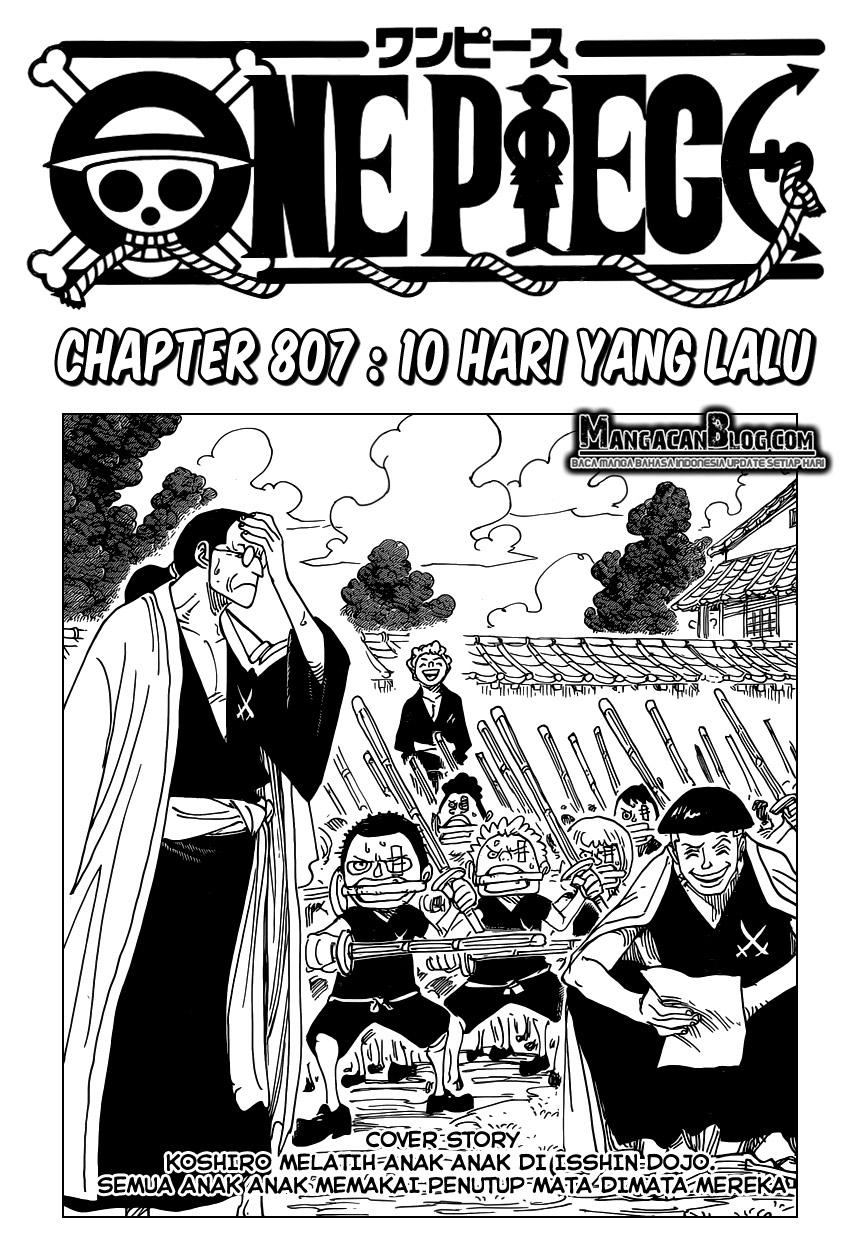 Dilarang COPAS - situs resmi www.mangacanblog.com - Komik one piece 807 - 10 hari yang lalu 808 Indonesia one piece 807 - 10 hari yang lalu Terbaru |Baca Manga Komik Indonesia|Mangacan