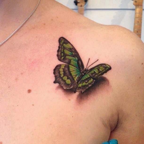Four 3D Tattoos Ideas