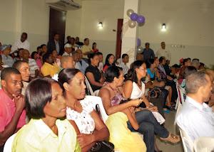 PARTE DE LOS ASISTENTENTES: PUESTA EN CIRCULACIÓN LIBRO PERIODISMO CON SENTIDO