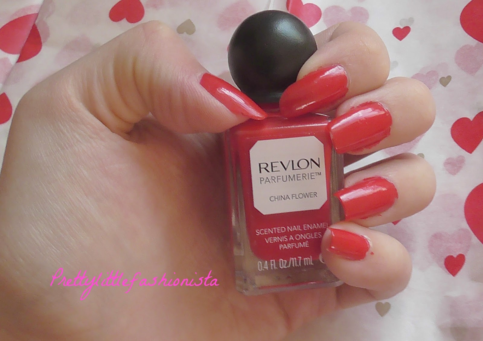 Revlon Scented Nail Polish in China Flower